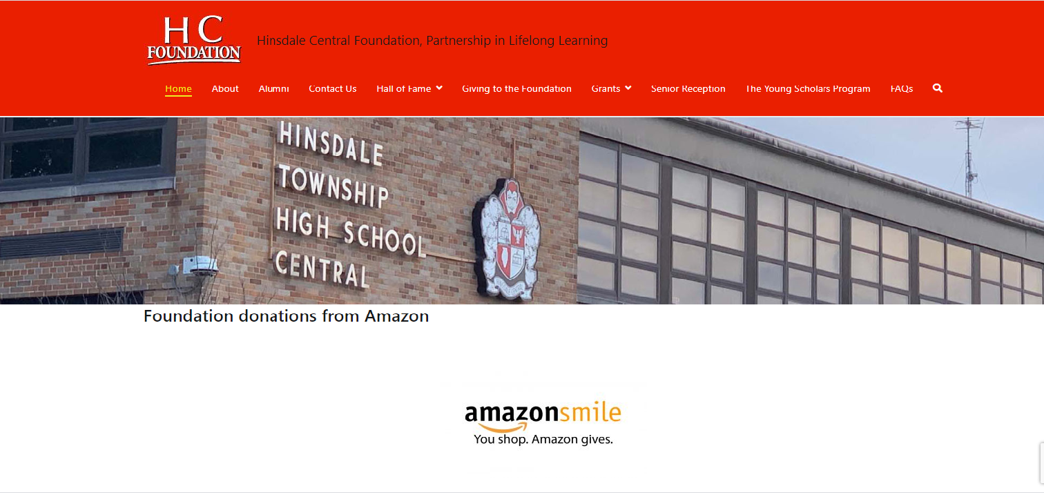 hinsdale central foundation